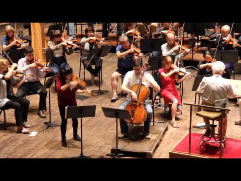 VSO In Rehearsal: Karen Gomyo and Christian Poltéra perform the Brahms Double Concerto