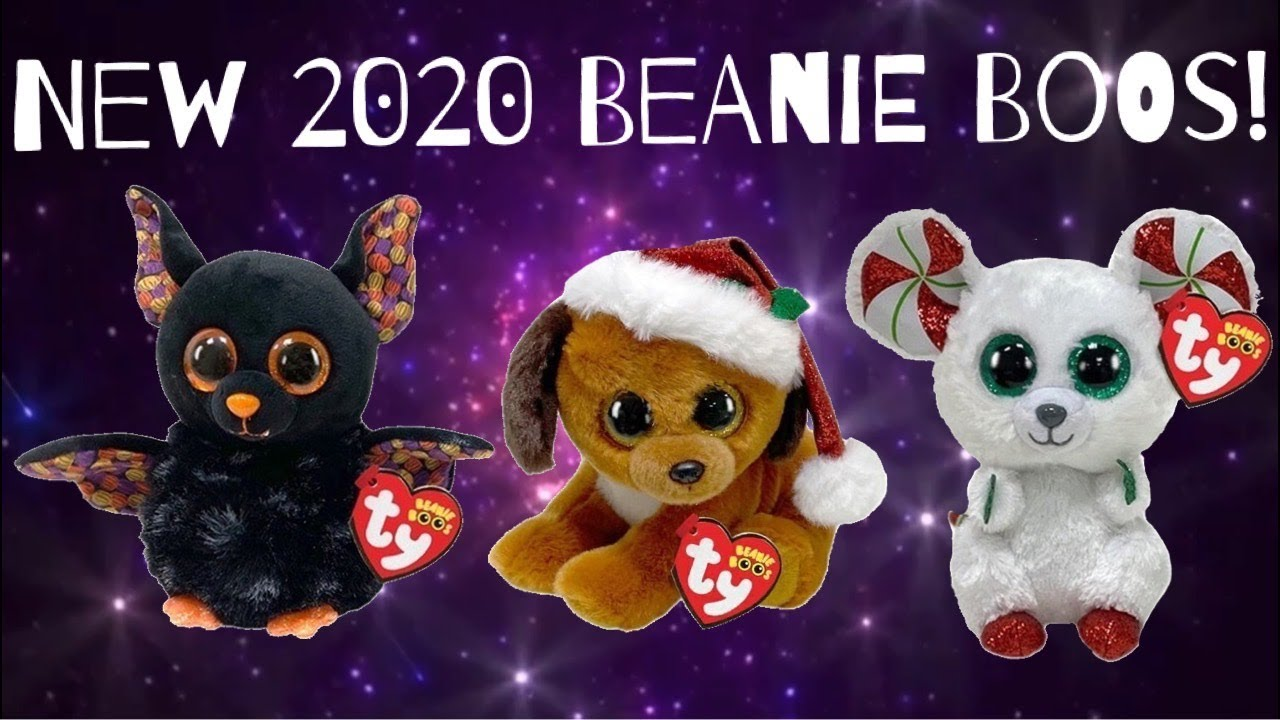 Ty Beanie 2020 Halloween Babies New 2020 Beanie Boos for Halloween and Christmas   YouTube