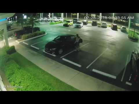 Night Hawk Monitoring Loitering at a Car Dealership 7/28/18