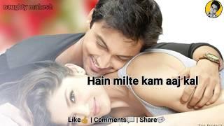 zara zara se hum badalne lage wajha tum ho | Love WhatsApp Status | Best Status by naughty Mahesh
