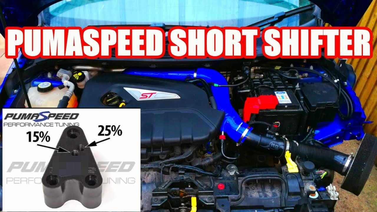 la moitié 8a19b 23703 Pumaspeed short shifter. FIESTA ST part 10