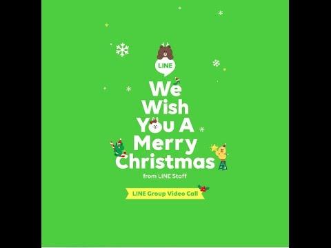 LINE Group Video Call - Selamat Natal dan Tahun Baru