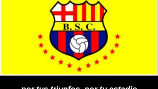 Himno del Barcelona Sporting Club