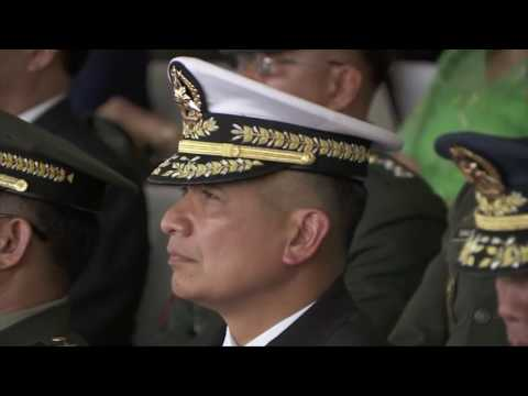 Testimonial Parade and Review in honor of H.E. Benigno S. Aquino III (Speech) 6/27/2016
