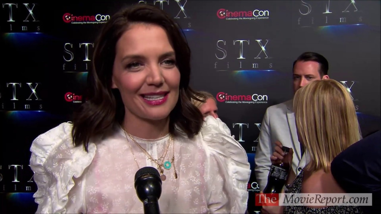FULL Katie Holmes talks BRAHMS THE BOY II at CinemaCon - April 2, 2019