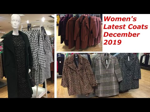 Women's Latest Coats On Sale, Vlogmas, December 2019, Shopping In Debenhams