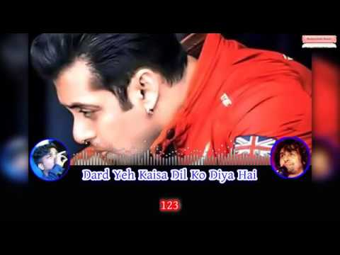 Tu Mila De Mila De Karaoke | Salman Khan | Sonu Nigam | Saawan - The Love Season