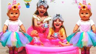 Куклы Беби Бон и бассейн с сюрпризами для девочек