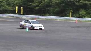 2009/08/09JAF北海道ジムカーナ地方選手権第6戦S A3クラス第2ヒート ド...