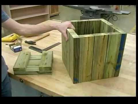 Woodworking Plans Building Wooden Garden Planters Installing the – Plans For Garden Planters Wooden
