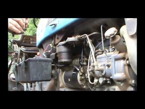 Tractor Surging? How to change the fuel filter - YouTube