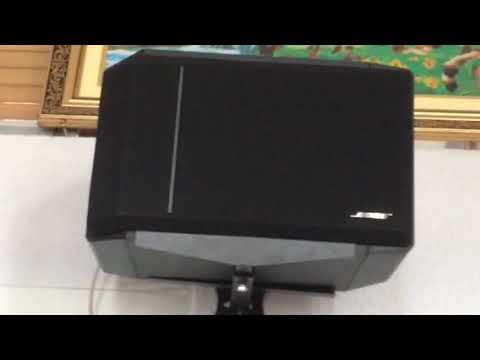 Test Cặp Loa Treo Tường Bose 301 Sri Vi