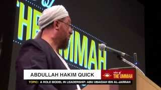 A Role Model in Leadership for Muslim Youth - Abdullah Hakim Quick