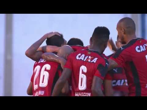 Gol: Luziânia 0 x 2 Vitória Copa do Brasil 2017