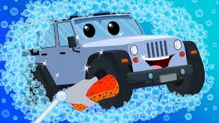 Jeep Car Wash | Car Wash | Kids Videos | Learn Vehicles