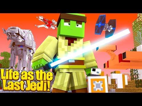 LIFE OF A JEDI -  Minecraft Star Wars Life w/TinyTurtle