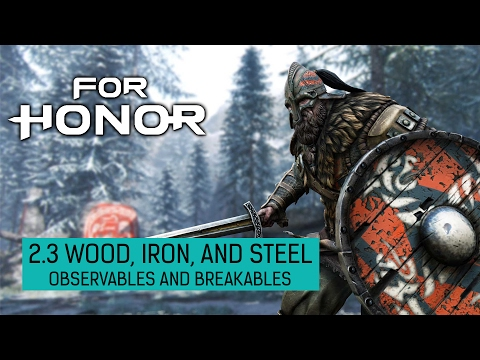 For Honor • Vikings Chapter 2.3 Collectibles • Observables and Breakables |
