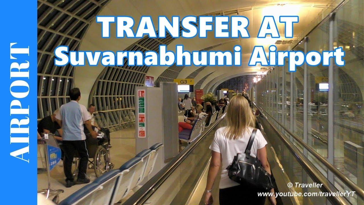 Transfer at Bangkok Suvarnabhumi Airport - Transfer to an International Connection Flight - C.I.Q.