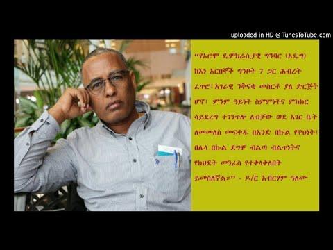 Have Your Say: Dr Abreham Alemu - SBS Amharic