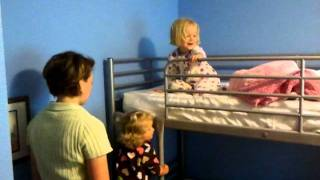 The Girls Get A New Bunk Bed