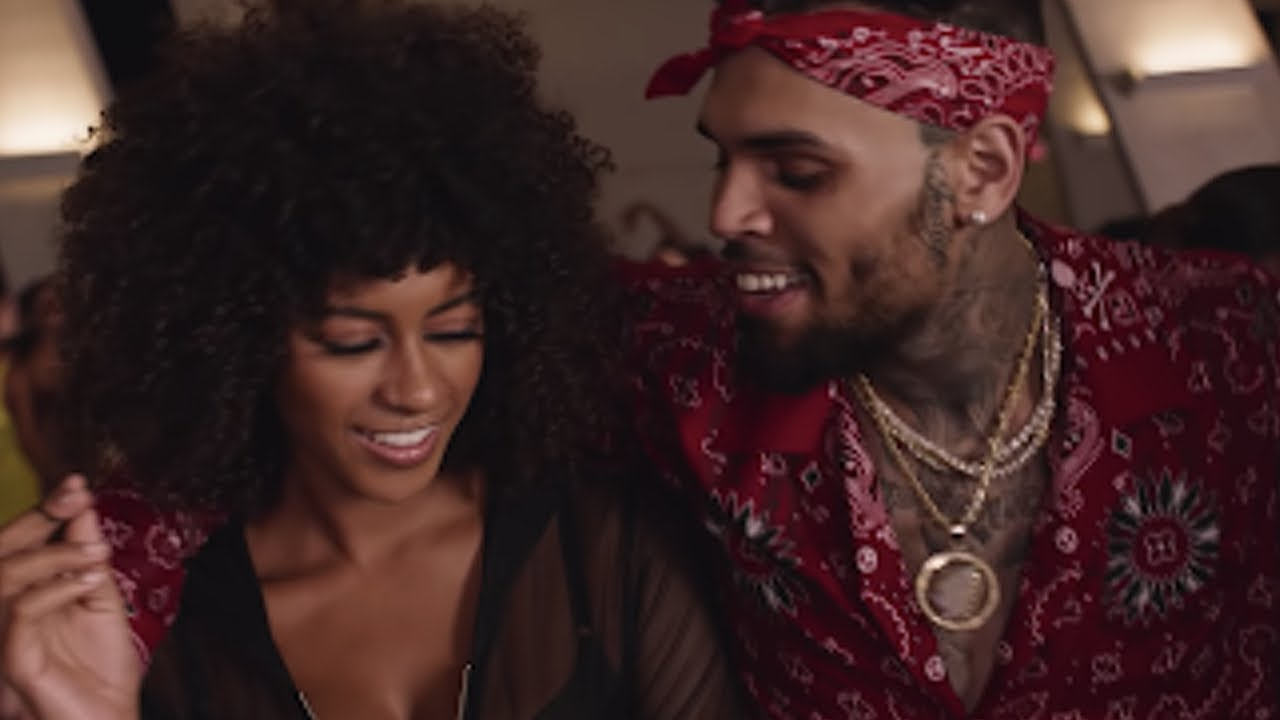Chris Brown Picks Brown Skin Girl With Curly Hair In New Video No