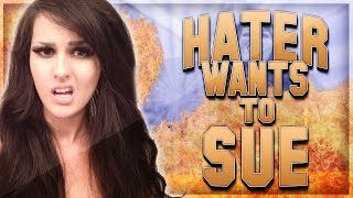 Hater Wants To Sue Me (Haters #2)
