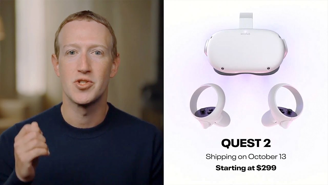 Facebook Launches Oculus Quest 2 VR Headset