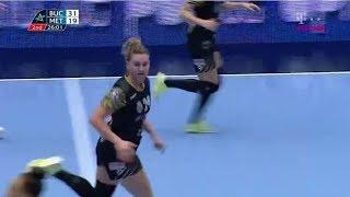 CSM Bucuresti - Metz second half home match quarterfinal CL