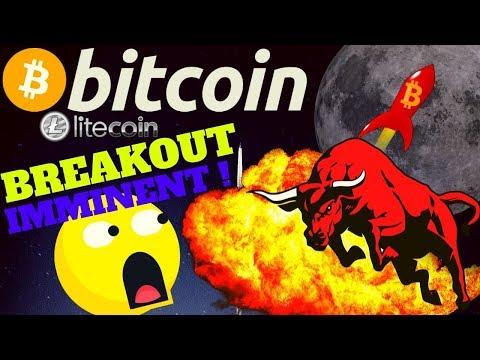 🔥BITCOIN BREAKOUT IMMINENT🔥bitcoin Litecoin Price Prediction, Analysis, News, Trading