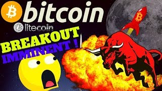 🔥BITCOIN BREAKOUT IMMINENT🔥bitcoin litecoin price prediction, analysis, news, trading