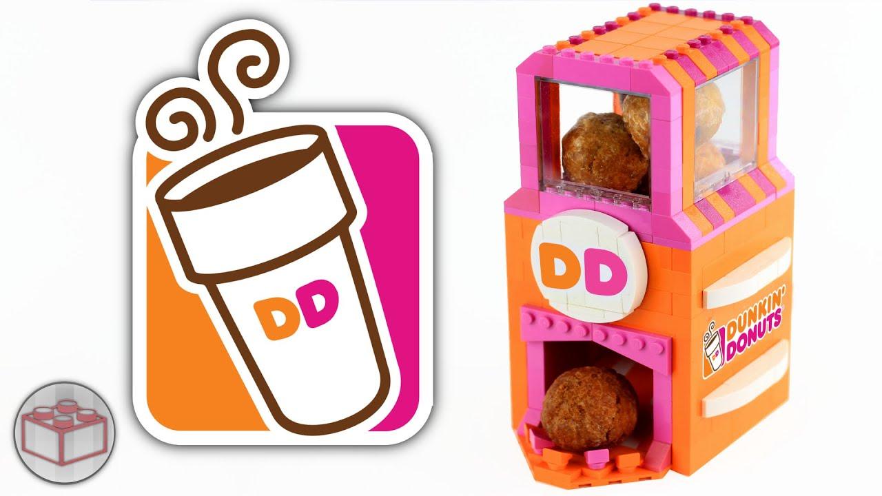 LEGO Dunkin' Donuts Munchkins Machine - YouTube