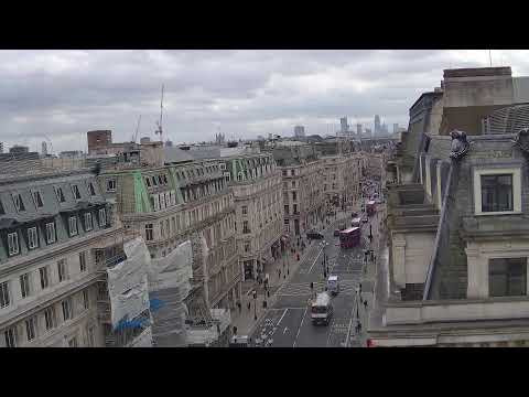 Regent's Street View From The Langham, London Hotel