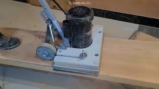 목재 샌딩작업
