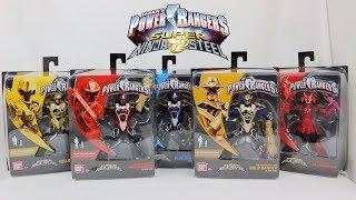 5 Inch Ninja Super Steel Mode Rangers Review [Power Rangers Super Ninja Steel]