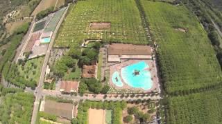 Film aérien Camping Yelloh! Village Mas Sant Josep à Santa Cristina d'Aro - Catalogne - Costa Brava