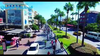 Alanya Uluslararası Bisiklet Festivali Korteji