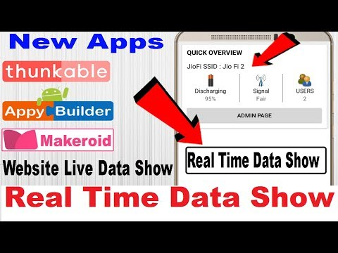 Repeat Website Real Time Data Show | HTML Live Data Show