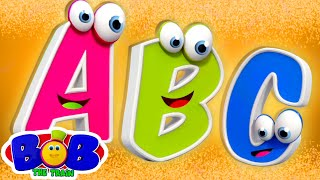 ABC Song | A to Z | Alphabets | Phonics | Preschool Learning Videos for Kids | Bob The Train