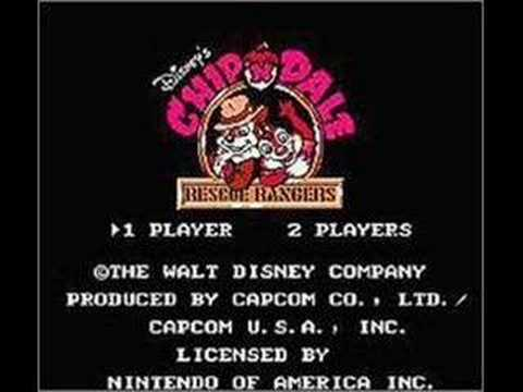Music for Stage J Chip N Dale Rescue Rangers NES