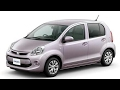 Toyota Passo AC Air Filter Cleaning and Replacement. User Manual