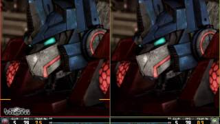 Transformers: War for Cybertron - PS3 vs XBox 360