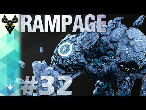 Paragon Full Match Gameplay #32 - Rampage - Shaking off the rust with Glacier Born