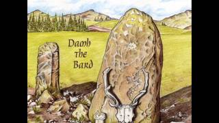 Damh The Bard - Antlered crown and standing stone