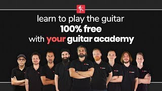 Learn To Play Guitar Online For Free - Guitar Lessons for Beginners, Intermediate & Advanced