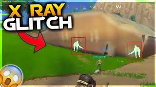 'OMG' NEW X RAY GLITCH IN Fortnite!! MUST WATCH (Fortnite Battle Royale FUNNY MOMENTS) @Fortnite