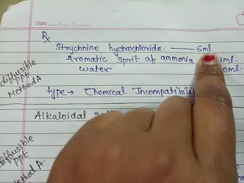 Chemical Incompatibility Part 2