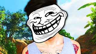 SAM PEPPER TROLLING on Black Ops 3! (GONE SEXUAL... Not Really)