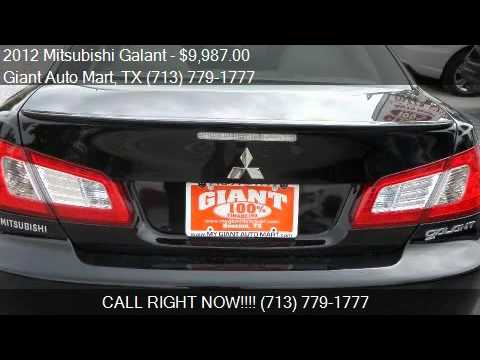 Giant Auto Mart >> 2012 Mitsubishi Galant For Sale In Houston Tx 77081 At The