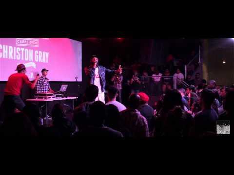 "Christon Gray ""Wanna"" Feat. JGivens LIVE(@christongray @pray4jgivens @getsoundvision)"