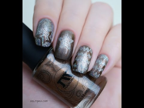 Трафареты для дизайна ногтей от NailFabrika: тестируем вместе, первое впечатление ♡